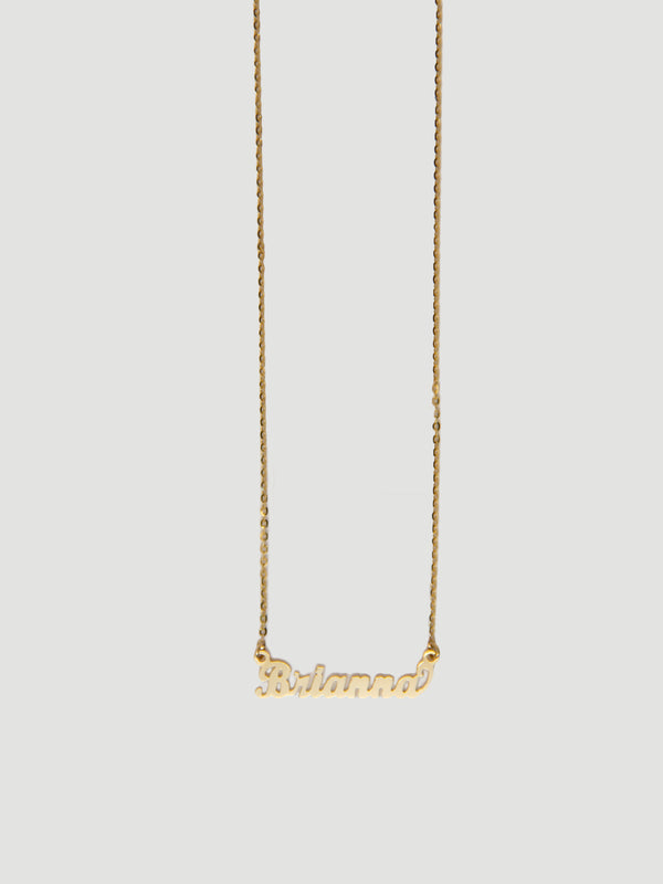 THE MINI NAME NECKLACE