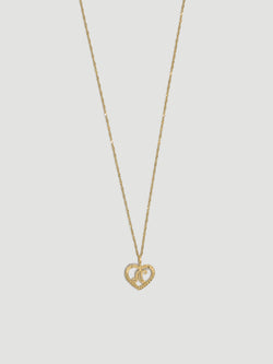 THE INITIALLY IN LOVE NECKLACE