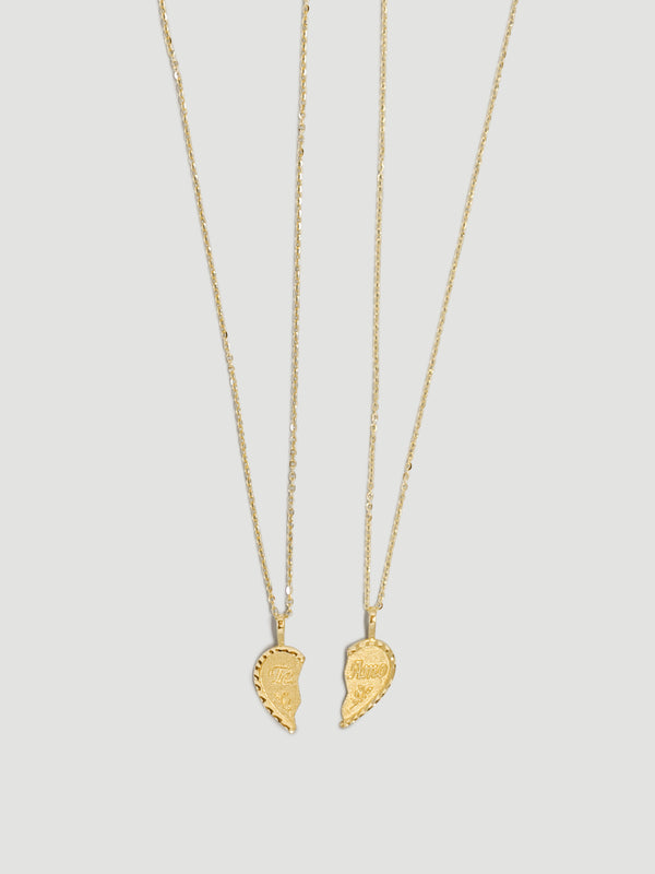 TE AMO BFF NECKLACES