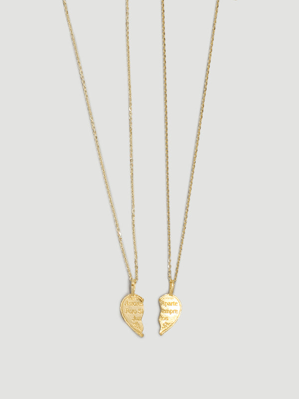 THE TE AMO BFF NECKLACES