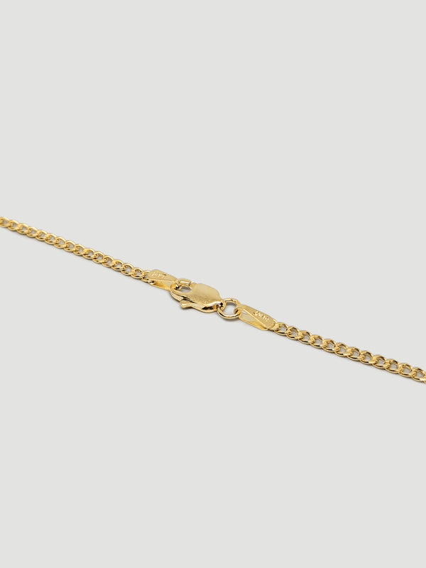 THE BASIC CHAIN ANKLET