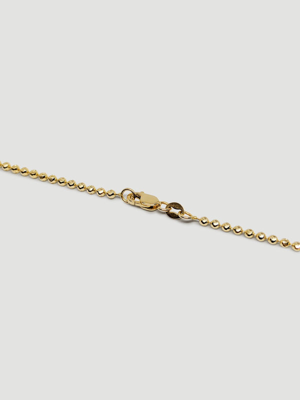 THE BALL CHAIN ANKLET