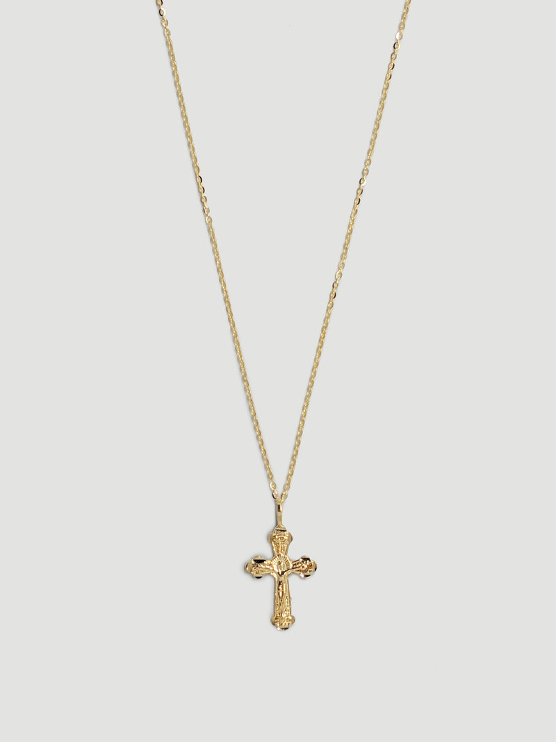 THE CROSS MY HEART NECKLACE
