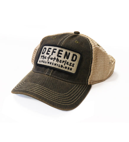 Defend the Fatherless Hat