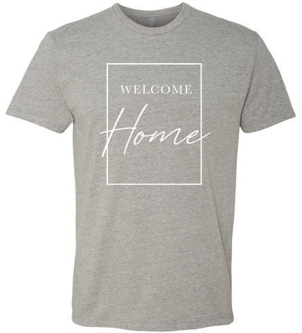 Welcome Home T-Shirt - Gray