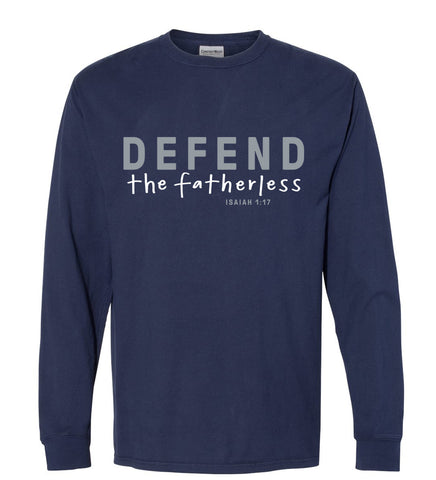 Defend the Fatherless Long-Sleeve T-Shirt