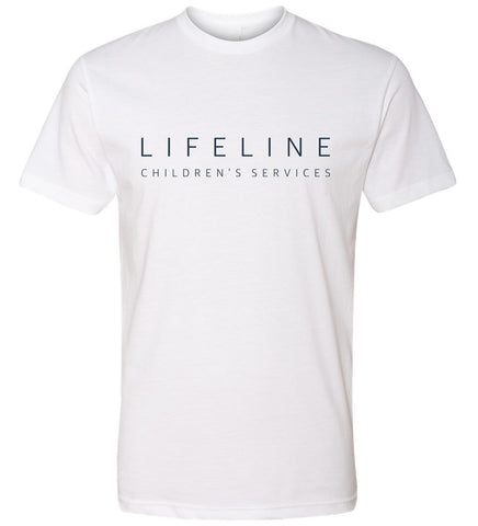 Simply Lifeline T-Shirt - White