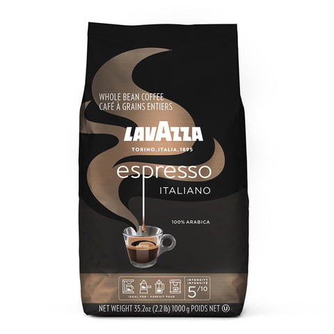 Lavazza Espresso Italiano Whole Bean Coffee Medium Roast