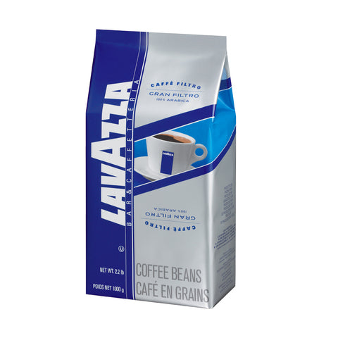 Lavazza Gran Filtro Whole Bean Coffee Blend Medium Roast