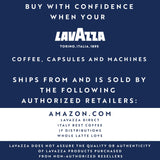Lavazza ALTECO USDA Organic Premium Blend Blue Single Dose Espresso Coffee Capsules (Pack Of 100)