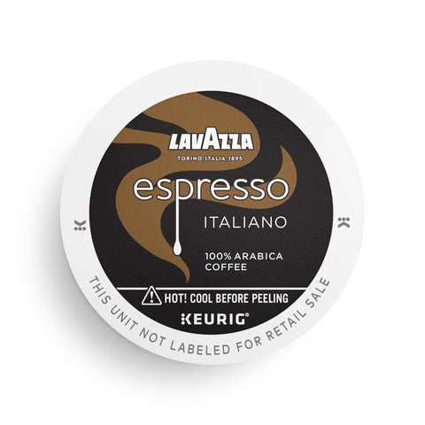 Lavazza Espresso Italiano Single-Serve Coffee K-Cups for Keurig Brewer