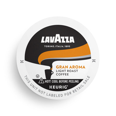 Lavazza Gran Aroma Single-Serve Coffee K-Cups for Keurig Brewer