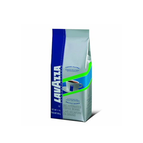 Lavazza Gran Filtro Decaffeinato Whole Bean Coffee Blend