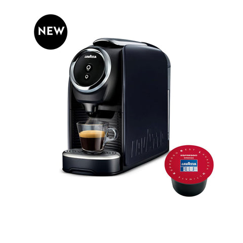 Lavazza BLUE Single Serve Classy Mini Espresso Machine LB 300 + 100 Capsules