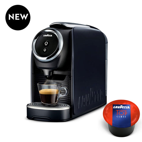 Lavazza BLUE Single Serve Classy Mini Espresso Machine LB 300 + 100 Caps.