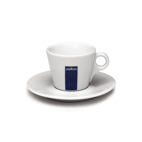 Lavazza Classic Collection Cappuccino Cup and Saucer (Set of 6)