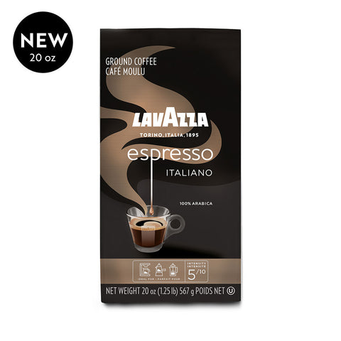 Lavazza Espresso Italiano Ground Coffee 100% Arabica