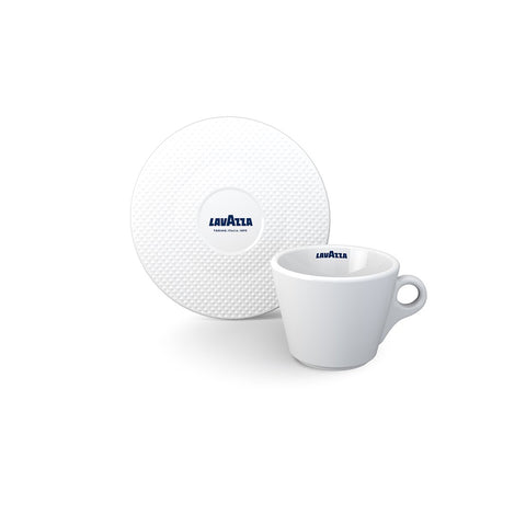 Lavazza Premium Collection Cappuccino Cup and Saucer (Set of 6)