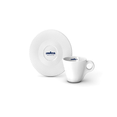 Lavazza Premium Collection Espresso Cup and Saucer (Set of 12)