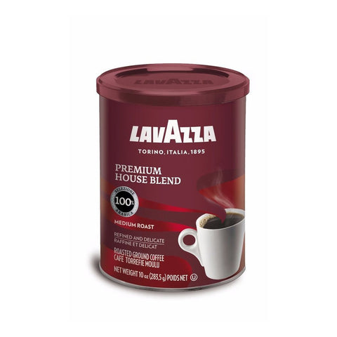 Lavazza Premium House Blend Ground Coffee Blend Medium Roast