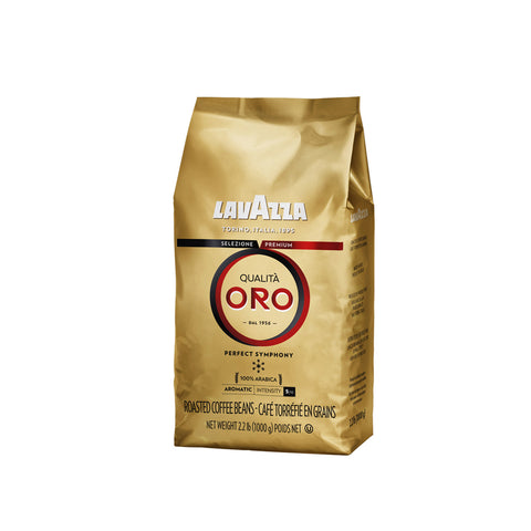 Lavazza Qualita Oro Whole Bean Coffee Blend Medium Roast