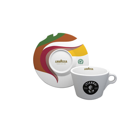 Lavazza Tierra Collection Americano Cup and Saucer (Set of 6)
