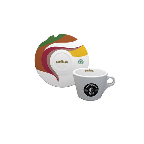 Lavazza Tierra Collection Cappuccino Cup and Saucer (Set of 6)