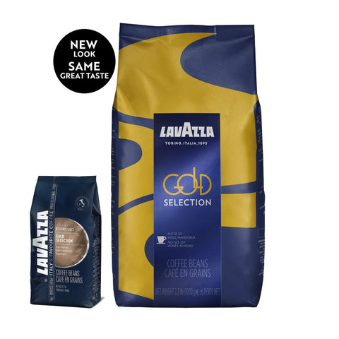 Lavazza Gold Selection Whole Bean Coffee Medium Espresso Roast