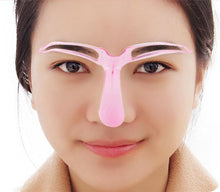 Load image into Gallery viewer, 2Pcs Easy Eyebrow Shaping Stencil