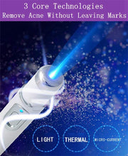 Load image into Gallery viewer, Blue Light Therapy Pen for Acne, Wrinkles, and Scar Removal