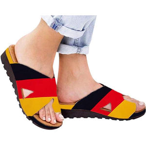 Women Comfy Platform Sandal Shoes For BUNION Rectification