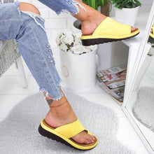 Load image into Gallery viewer, Women Comfy Platform Sandal Shoes Flip Flops Sandals