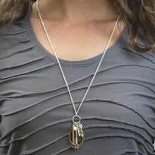 Load image into Gallery viewer, Arrow Strength Charm Necklace
