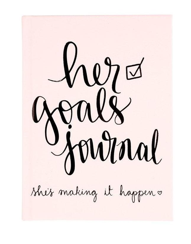 Her Goals Guided Goal Tracking Journal