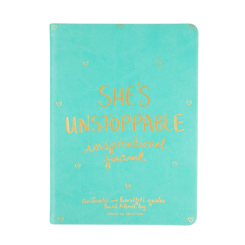 She's Unstoppable Inspirational Journal