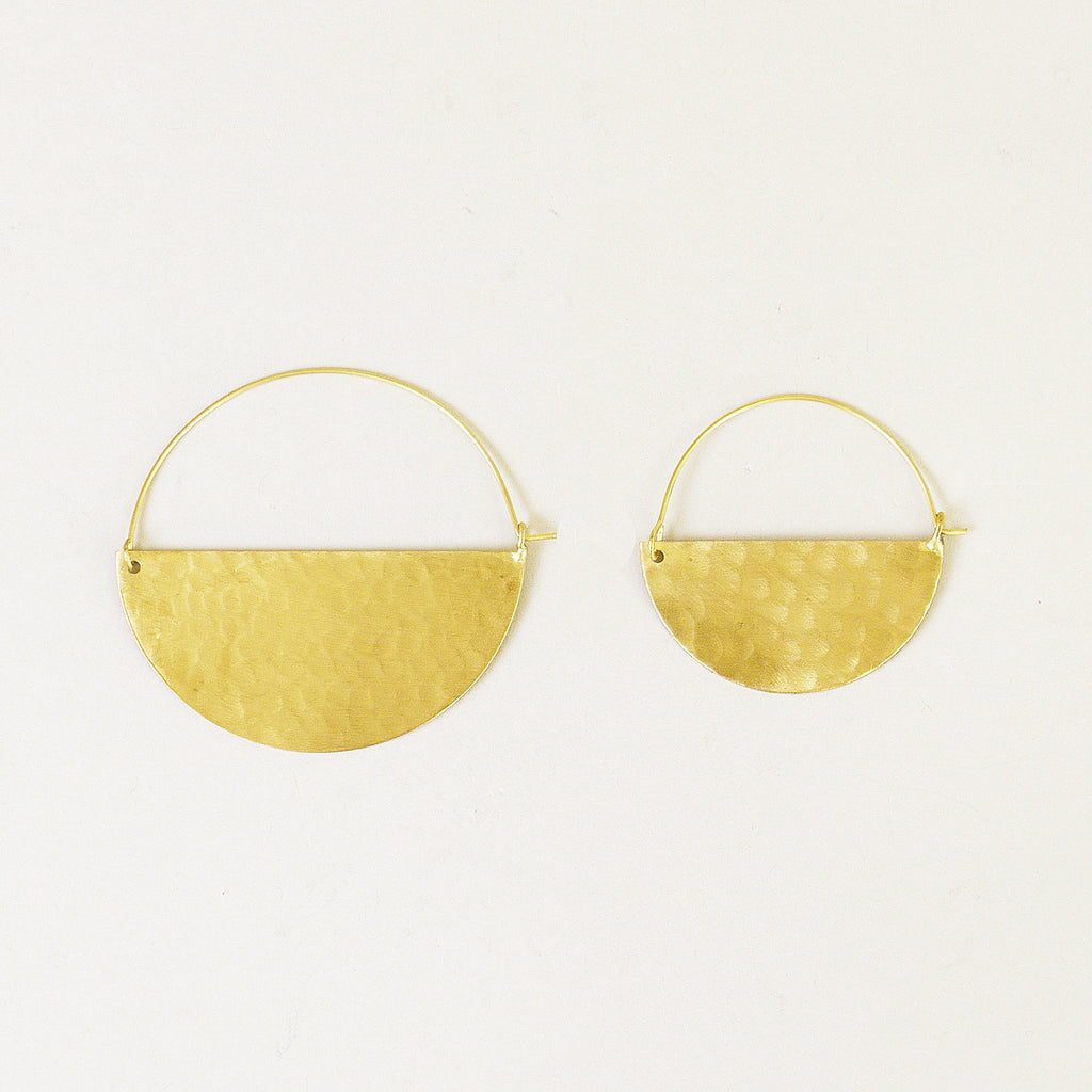Half Moon Earrings