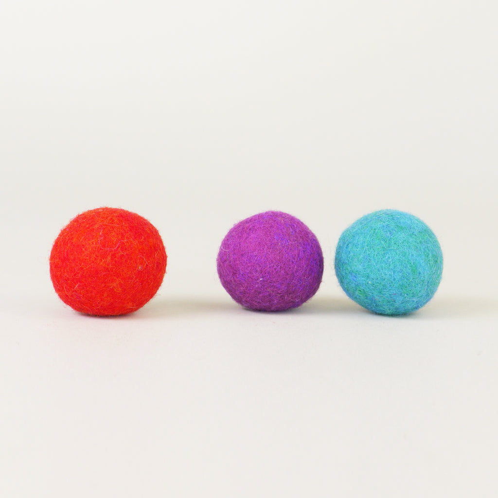 Felt Ball Cat Toy