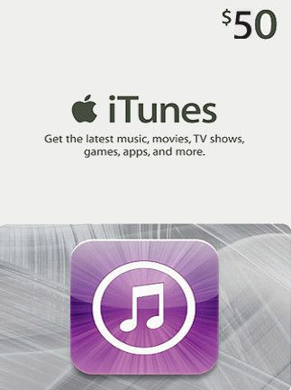 Apple iTunes Gift Card United States 50 USD iTunes
