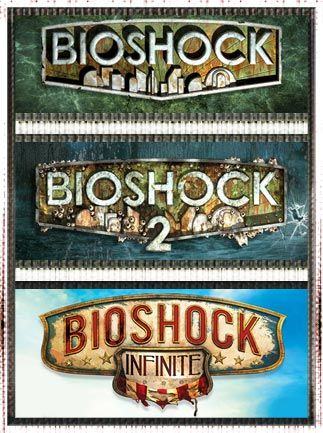 Bioshock Triple Pack Steam Key GLOBAL