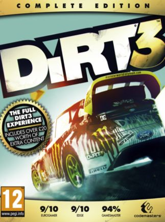DiRT 3 Complete Edition Steam Key EUROPE