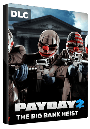 PAYDAY 2: The Big Bank Heist Key Steam GLOBAL