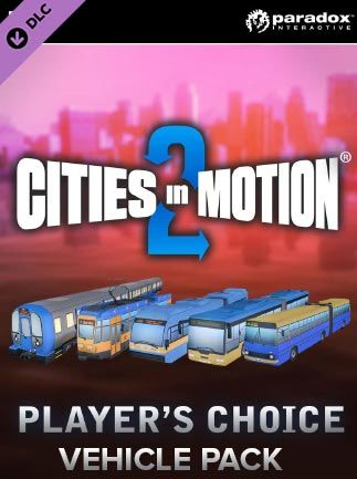 Cities in Motion 2 - Players Choice Vehicle Pack Steam Key GLOBAL