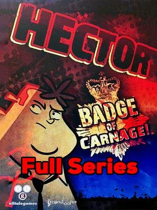Hector: Badge of Carnage - Full Series Steam Key GLOBAL