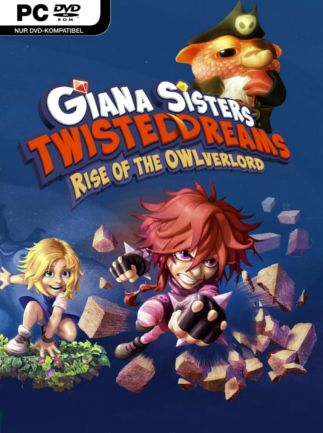Giana Sisters: Twisted Dreams - Rise of the Owlverlord Steam Key GLOBAL