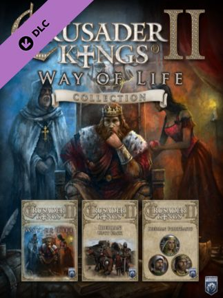 Crusader Kings II - Way of Life Collection Steam Key GLOBAL