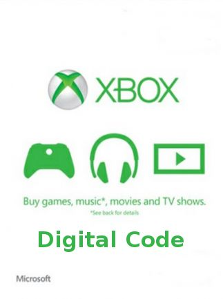 XBOX Live Gift Card UNITED STATES 50 USD Key