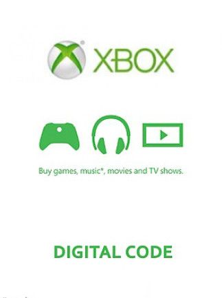 XBOX Live Gift Card 50 CAD XBOX LIVE Key CANADA