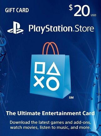 PlayStation Network Gift Card 20 USD PSN UNITED STATES