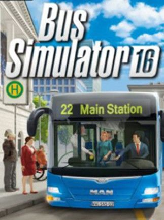 Bus Simulator 16 Steam Key EUROPE