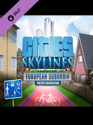 Cities: Skylines - Content Creator Pack: European Suburbia DLC Key Steam GLOBAL